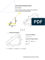 Guía básica trigonometría Cálculo de Armaduras