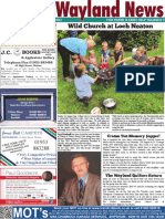 The Wayland News August 2021