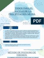 Métodos de Precipitacion (1)