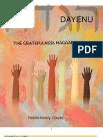 Dayenu - The Gratefulness Haggadah
