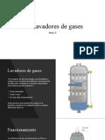 Tema 5 Lavadores de gases