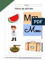 29. Fichas Letras Do Alfabeto