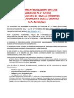 GUIDA-IMMATRICOLAZIONI-ISCRIZIONI-AL-1°ANNO