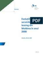 EVOLUTIA PIETEI  DE LEASING  2008