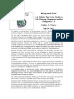 Thayer U.S. Defense Secretary Austin to Visit Vietnam, Singapore and the Philippines – 1