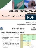 Aula 4 - Tempo Geológico-Rochas-Ciclo Das Rochas