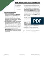 Autotrol 255-940 Manual