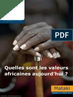 Mataki-valeurs-africaines