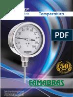 CATÁLOGO TEMPERATURA- FAMABRAS