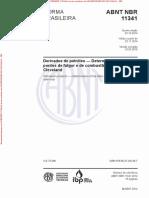 NBR 11341 de 10.2014 - Derivados de petróleo - Determinação dos pontos de fulgor e de combustão em vaso aberto Cleveland