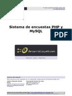 Manual Sistemas Encuestas Php Mysql