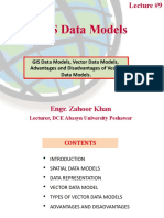 Lecture #9 (GIS Data Models)