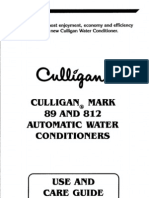 (Culligan)Mark89and812softenerownersguide