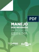 MANEJO DE RESÍDUOS DA PRODUÇÃO LEITEIRA