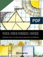 livro edufes politicas, praticas pedagogicas e formacao dispositivos para a escolarização de alunos(as) com deficiência