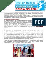 La Independencia Del Peru -Vi Ciclo 1ero y 2do - Dpcc - Julio