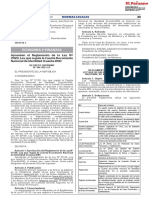 Decreto Supremo Nº 184-2021-EF que aprueba el Reglamento de la Ley Nº 31120, Ley que regula la Cuenta Documento Nacional de Identidad (Cuenta-DNI).
