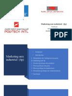 Marketing Mix Industriel