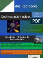 Aula 6 - Desintegração Nuclear