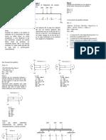 Explicacion del Momento flector y fuerza cortante por metodo de las Secciones
