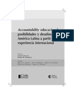 Accountability Educacional Cide