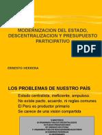 Reforma Del Estado y Presupuesto Participativo