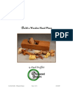 Build a Wooden Hand Plane