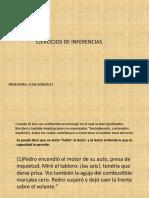 EJERCICIOS DE INFERENCIAS