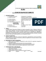 SILABO - REPARACION DE EQUIPOS DE COMPUTO
