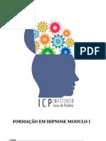 Curso de Hipnose módulo I - PDF