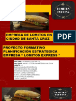 PROYECTO FORMATIVO LOMITO EXPRESS GRUPO 4