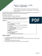 PLAN LECTOR- 07 DE AGOSTO