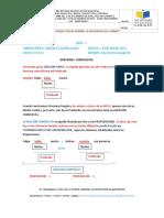 GUA 7 OCTAVO G. ORACIONES COMPUESTAS. Lengua Castellana