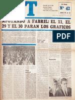 CGT de los Argentinos Nº 42