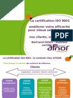 Certification BD Afnor 2018