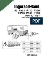 Manual de Compressores P130 - P150 - P180