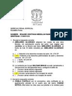 Cristhian MEDELLIN Examen Final Derecho Penal Especial