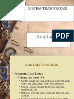 ARUS LALU LINTAS