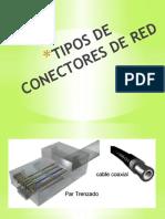 TIPOS DE CONECTORES DE RED
