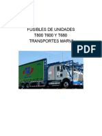 Fusibles t800 t660 t680