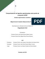 Comportamento de ligacoes aparafusadas entre perfis de composito GFRP - Tese - Versao Final