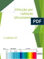 Desinfecção por radiação Ultravioleta