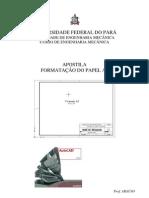 APOSTILA DE AUTOCAD PARA NORMAS DO PAPEL A3