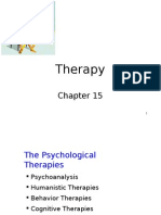 Chapter 15- Therapy