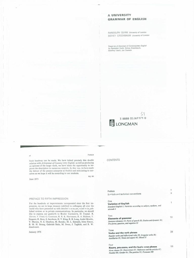 a university grammar of english pdf