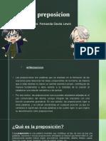 preposicion lenguaje