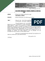 OFICIO SOLICITANDO INFORMACION RML