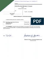 Genco Detention Order