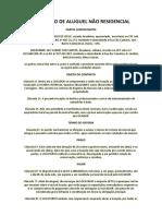 CONTRATO DE ALUGUEL RESIDENCIAL