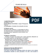 plano-aula-lingua-portuguesa-5-ano